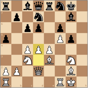Where is Black's play. With the center in my control, I have a firm grasp of the position with lots of flexibility.