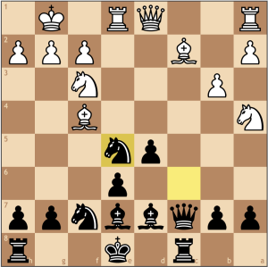 Some times, a threat is stronger than its execution. Here White's pieces are passively defending the weak e5 pawn, but by capturing, White can trade off his weakest pieces at the cost of only a pawn. What Black needs to realize is that the e5 pawn will be weak forever since its blockaded by the e6 pawn, and right now blocks the e1 rook from doing any damage to the king. If Black really wanted to make the most out of his position, ...b7-b5 would have been a nice way to grab space while also maintaining pressure on e5.